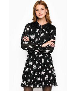 Silvian Heach | Черное Платье С Цветочным Принтом