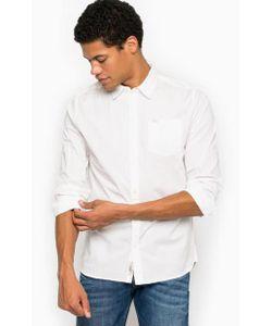 Pepe Jeans | Однотонная Хлопковая Рубашка С Карманом