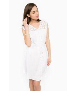 Gaudi   Платье Свободного Кроя Из Вискозы С Поясом