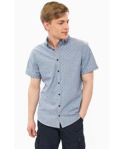 Blend | Голубая Рубашка С Короткими Рукавами