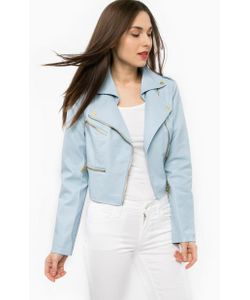 Silvian Heach | Голубая Куртка С Декоративными Молниями
