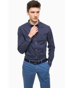ARMANI JEANS | Синяя Хлопковая Рубашка