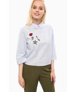 Vero Moda   Блуза Из Хлопка В Полоску