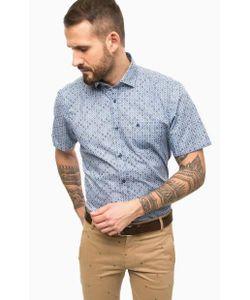 LERROS | Синяя Рубашка С Нагрудным Карманом