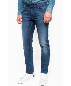 Calvin Klein Jeans | Зауженные Джинсы С Заломами И Потертостями