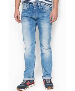 Pepe Jeans London   Голубые Джинсы Прямого Кроя