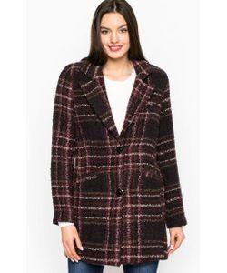 Silvian Heach | Пальто Из Акрила В Клетку