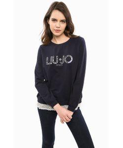 LIU •JO SPORT | Свитшот С Вышивкой И Кружевной Отделкой