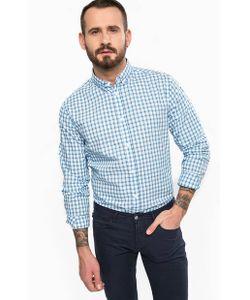 ARMANI JEANS | Приталенная Рубашка Из Хлопка В Клетку