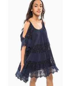 Guess | Короткое Платье С Кружевными Вставками