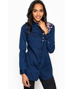 Guess | Рубашка Из Вискозы С Вышивкой