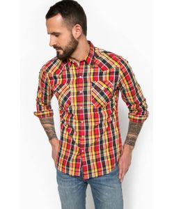 Levi's® | Разноцветная Хлопковая Рубашка В Клетку