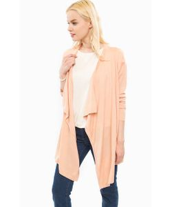 Trussardi Jeans | Удлиненный Кардиган Бежевого Цвета