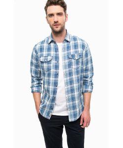 Jack & Jones | Синяя Рубашка В Клетку