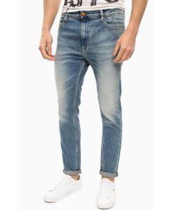 Calvin Klein Jeans | Джинсы Скинни С Заломами И Потертостями