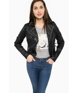 Gaudi | Черная Куртка С Металлическим Декором