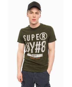 Superdry | Хлопковая Футболка Цвета С Короткими Рукавами