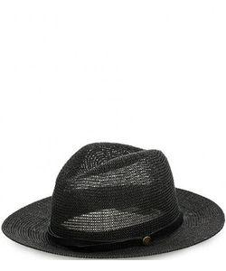 Goorin Bros. | Черная Плетеная Шляпа