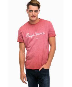 Pepe Jeans London | Хлопковая Футболка С Логотипом Бренда