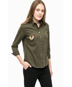 Mavi | Хлопковая Рубашка С Вышивкой