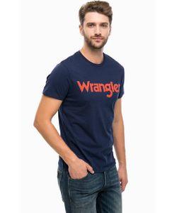 Wrangler | Хлопковая Футболка С Принтом