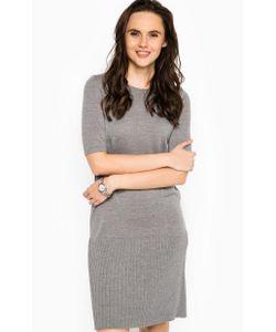 Tommy Hilfiger | Шерстяное Платье С Короткими Рукавами
