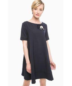 Pois | Темно Платье Расклешенного Силуэта