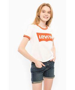 Levi's® | Хлопковая Футболка С Короткими Рукавами