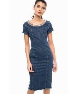 Liu •Jo Jeans   Платье Из Денима С Декоративной Отделкой
