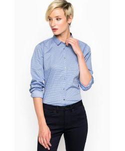 Tommy Hilfiger | Синяя Хлопковая Приталенная Рубашка
