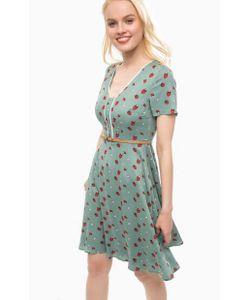 Sugarhill Boutique | Приталенное Платье Из Вискозы С Ремнем