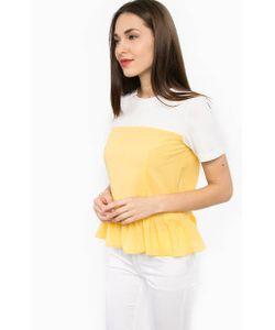 Silvian Heach | Блуза С Баской И Короткими Рукавами