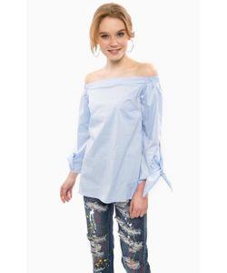Glamorous | Синяя Блуза С Открытыми Плечами