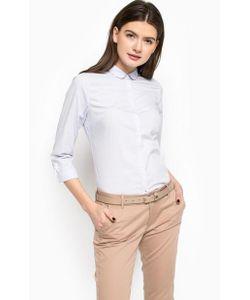 Tommy Hilfiger | Приталенная Рубашка С Отделкой Вышивкой