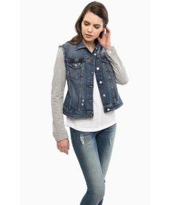 Liu •Jo Jeans | Рваная Куртка Из Денима С Отделкой Пайетками