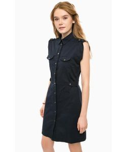 Pepe Jeans | Темно Платье С Карманами