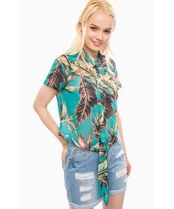 Vero Moda   Трикотажная Блуза С Завязками