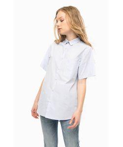 Replay | Хлопковая Рубашка Оверсайз В Полоску