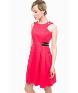 Pois | Приталенное Платье Из Хлопка Цвета