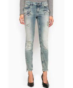 Calvin Klein Jeans | Джинсы Скинни С Сильными Потертостями