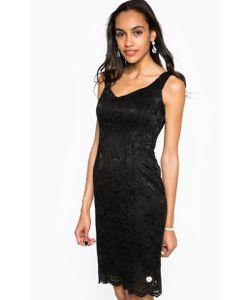 Relish | Черное Платье Средней Длины