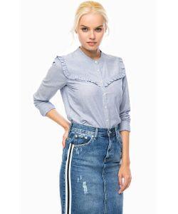 Pepe Jeans London | Рубашка Из Хлопка С Оборками