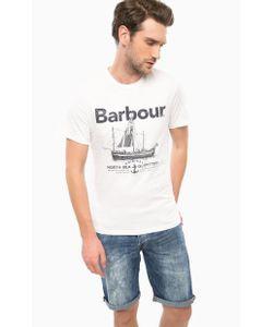 Barbour | Футболка Из Хлопка С Принтом
