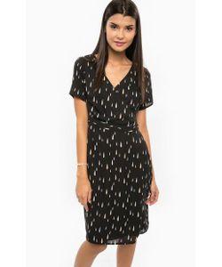 Sugarhill Boutique | Черное Платье С Запахом