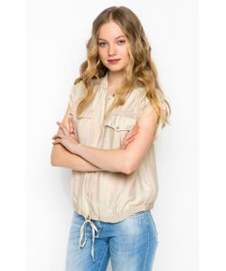 Trussardi Jeans | Блуза Из Вискозы С Добавлением Шелка