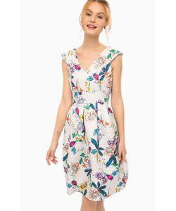 Darling | Приталенное Платье С Цветочным Принтом