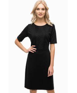 Blue Seven | Черное Платье С Кружевом