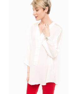 U.S. Polo Assn. | Блуза Из Вискозы Молочного Цвета