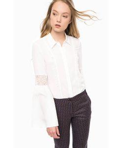 Pennyblack | Блуза На Пуговицах С Кружевной Отделкой