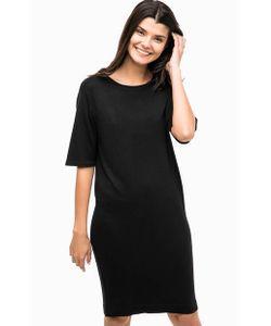 b.young | Короткое Трикотажное Платье Черного Цвета